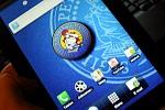 Samsung Galaxy Tab z tapetą VaGli