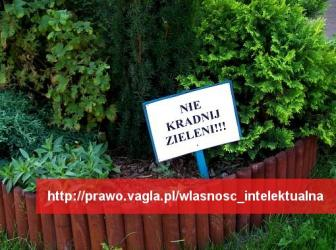 Nie kradnij zieleni!!!
