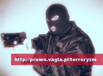 """""""Celem terroryzmu jest szerzenie terroryzmu"""""""