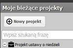 fragmencik zrzutu ekranu przygotowanej w MG aplikacji legislatora