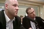 Piotr Waglowski i Igor Ostrowski w audycji Mediacje radia TOK FM