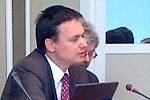 Minister Jacek Cichocki w czasie spotkania w Kancelarii Prezesa Rady Ministrów w dniu 24 maja 2011 r.