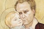fragment plakatu spektaklu Ojciec Bóg