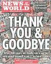 Okładka ostatniego wydania gazety News of the World