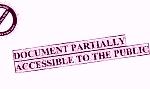 Klauzula informująca o częściowym udostępnieniu informacji obywatelom