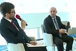 Rafał Górski i Piotr Waglowski w trakcie debaty