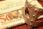 Ranking Dziennika Gazety Prawnej z tekturową maską Wikinga