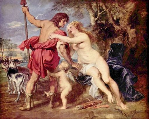 Peter Paul Rubens, Venus and Adonis, mid- or late 1630s