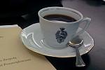 senacka filiżanka z kawą