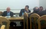 Minister Michał Boni w czasie spotkania w Kancelarii Prezesa Rady Ministrów