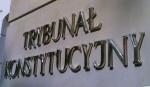 napis Trybunał Konstytucyjny na budynku Trybunału